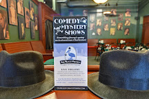 The Black Fedora Comedy Mystery Theatre, Charleston, United States