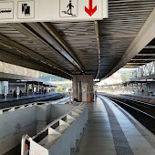 Train Station   Lisbon Sete Rios Station