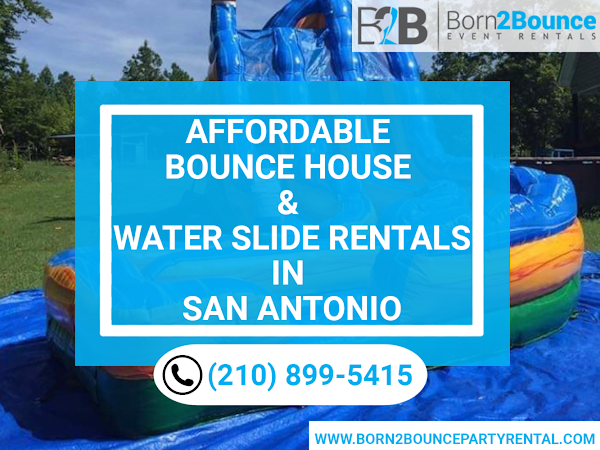 Affordable Bounce House and Water Slide Rentals