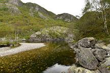 Månafossen, Frafjord, Norway