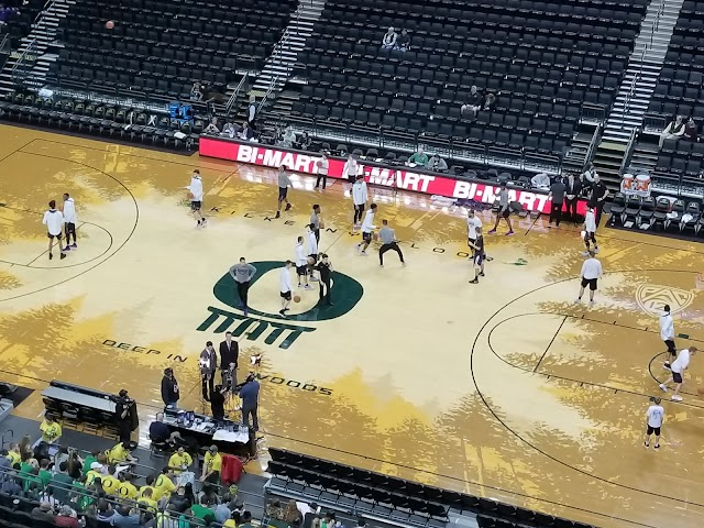 Matthew Knight Arena Eugene Oregon