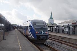 Железнодорожная станция  Frederikshavn St.