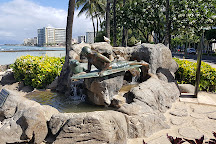 Makua and Kila statue, Honolulu, United States