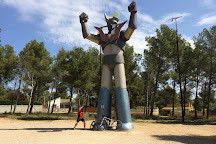 Estatua Gigangte de Mazinger Z, Cabra del Camp, Spain