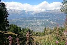 Grand Bisse de Vercorin, Vercorin, Switzerland