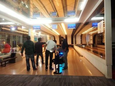 SVM Bowling Gaming