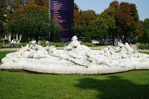 Square Jean Perrin, Paris, France