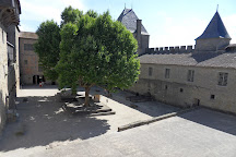 Chateau Comtal, Carcassonne Center, France