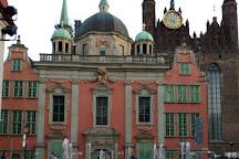 Four Quarters Fountain (Fontanna Czterech Kwartalow), Gdansk, Poland
