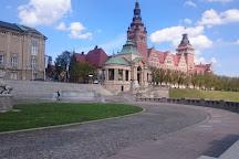 Waly Chrobrego Promenade (Hakenterrasse), Szczecin, Poland