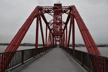 Chikugo River Lift Bridge, Okawa, Japan