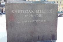 Svetozar Miletic Monument, Novi Sad, Serbia
