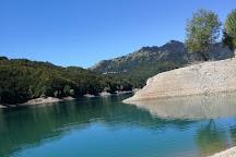 Lago del Brugneto, Torriglia, Italy