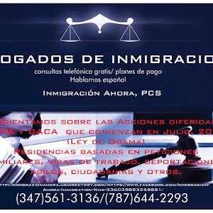 Inmigracion Ahora/Immigration Now