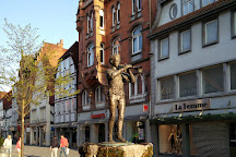 Pied Piper Statue, Hameln, Germany