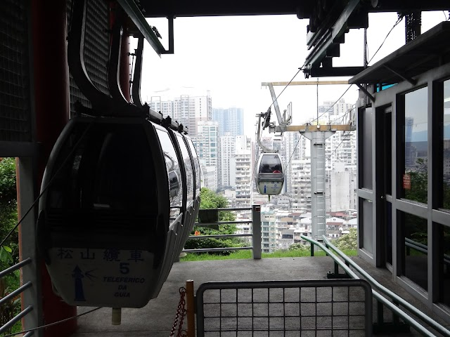 Guia Hill Cable Car