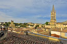 Clocher de l'Eglise Monolithe, Saint-Emilion, France