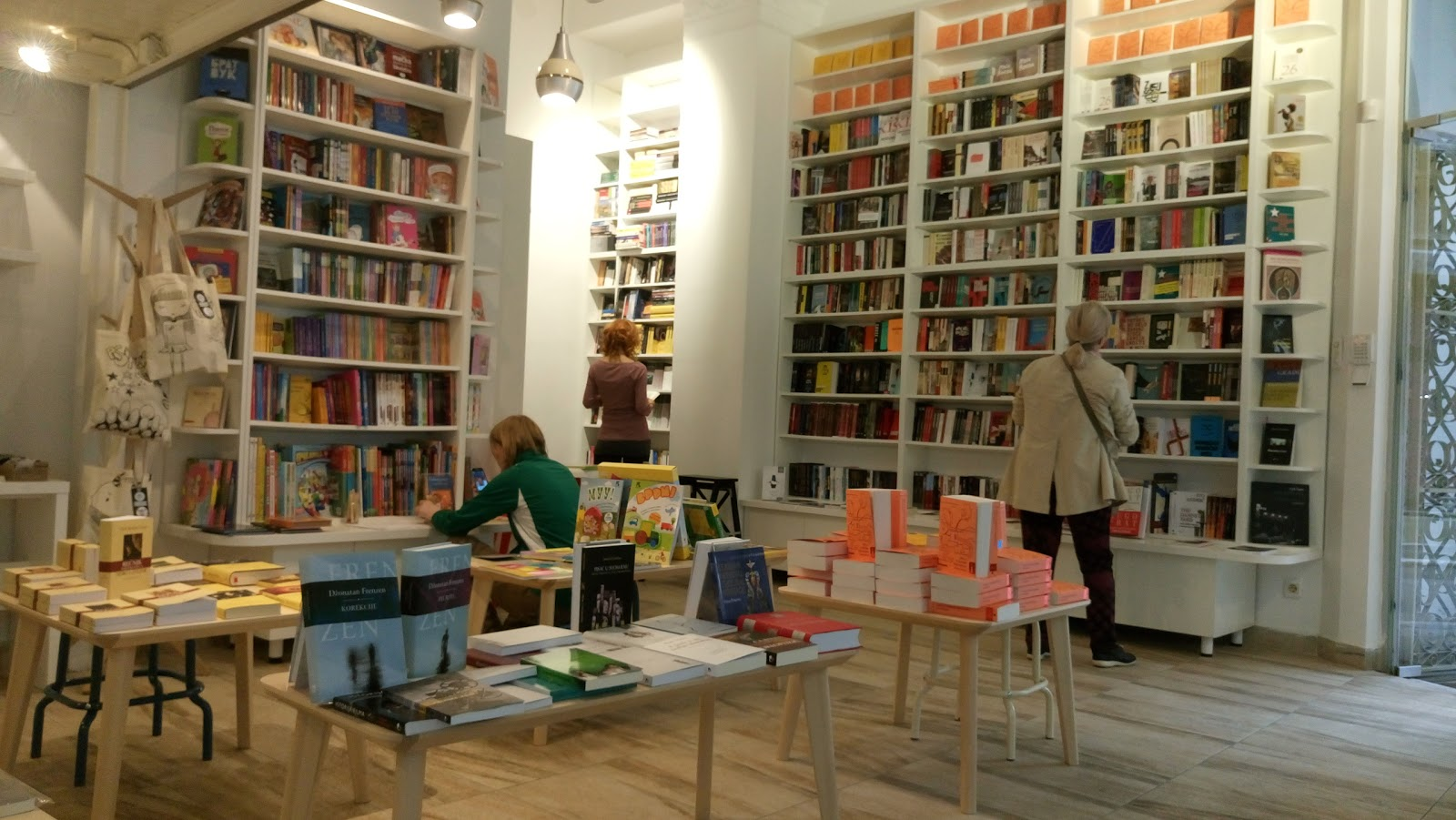 Bookastore: A Work-Friendly Place in Belgrade