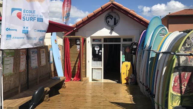 """Surf school Capbreton """"SupDivision"""""""