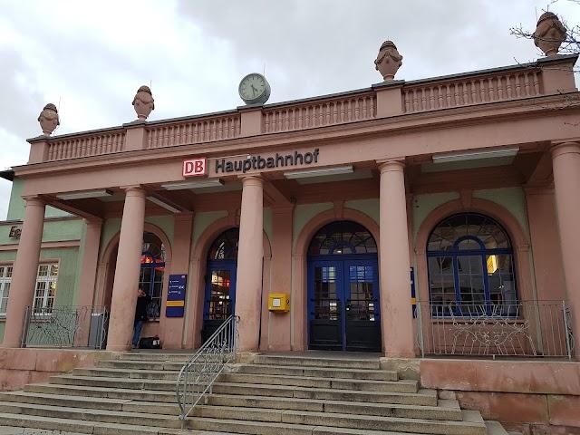 Naumburg, Hauptbahnhof