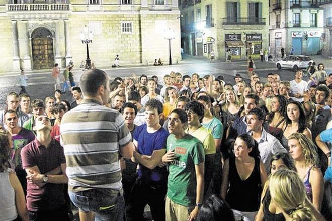 Bar Crawl Barcelona, Barcelona, Spain