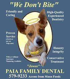 Paia Family Dental maui hawaii