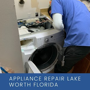 Working a front washer in a Lake Worth, FL