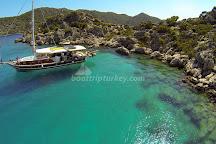 Boat Trips by Captain Ergun, Kas, Turkey