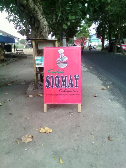 Kedai Siomay Kabupaten