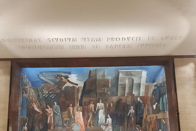 Aula Magna dell'Universita La Sapienza, Rome, Italy