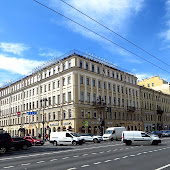 Станция метро  станции  Nevsky Prospekt