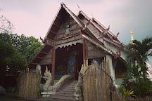 Wat Chiang Yuen Temple, Chiang Mai, Thailand