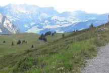 Alprundweg Leiterli, Lenk im Simmental, Switzerland