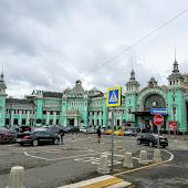Железнодорожная станция  Moskva Belorusskaia