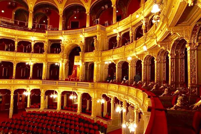 Hungarian State Opera House (Magyar Allami Operahaz), Budapest, Hungary