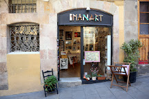 Imanart Barcelona Street Photo Gallery, Barcelona, Spain
