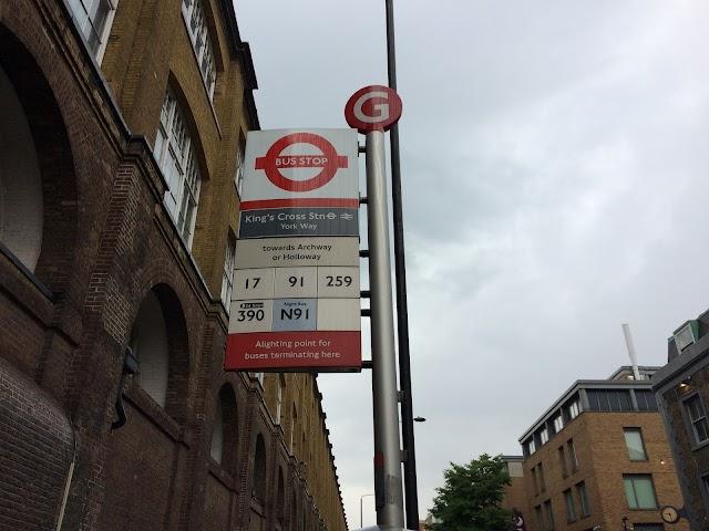 King's Cross Stn York Way (Stop G)