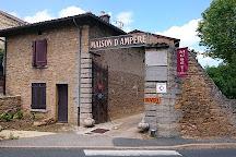 MAISON D'AMPERE Musee de l'electricite, Poleymieux-au-Mont-d'Or, France