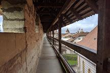 Medieval City Walls, Murten, Switzerland