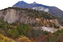 La frana del Monte Toc, Erto e Casso, Italy