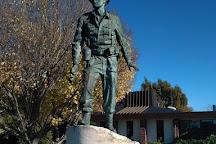 Charles Upham VC Statue, Amberley, New Zealand
