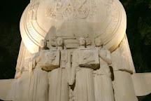 Monument commemoratif au roi Alexandre Ier de Yougoslavie et a Louis Barthou, Marseille, France