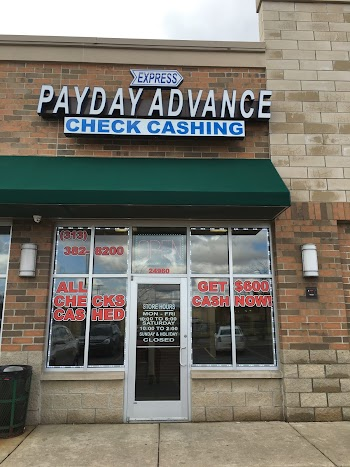 Express Payday Advance Payday Loans Picture