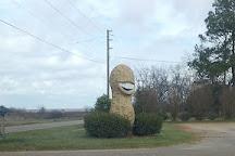 Jimmy Carter Peanut of Plains Statue, Plains, United States