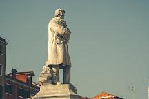 Statua di Niccolo Tommaseo, Venice, Italy