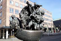 Narrenschiffbrunnen, Nuremberg, Germany