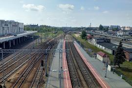 Железнодорожная станция  Poznan Glowny