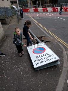 NCP Car Park Edinburgh Holyrood Road