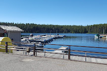 Bridge Bay Marina, Yellowstone National Park, United States
