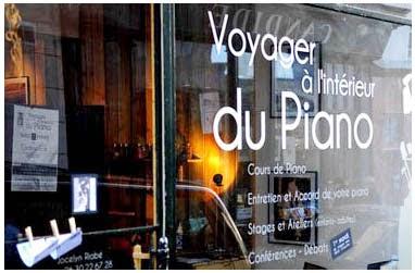 Voyager à l'Intérieur du Piano - Jocelyn Riobé